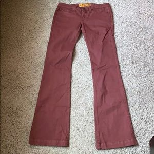 SAMPLE! Dittos Five Pocket Rust Boot Cut Jeans
